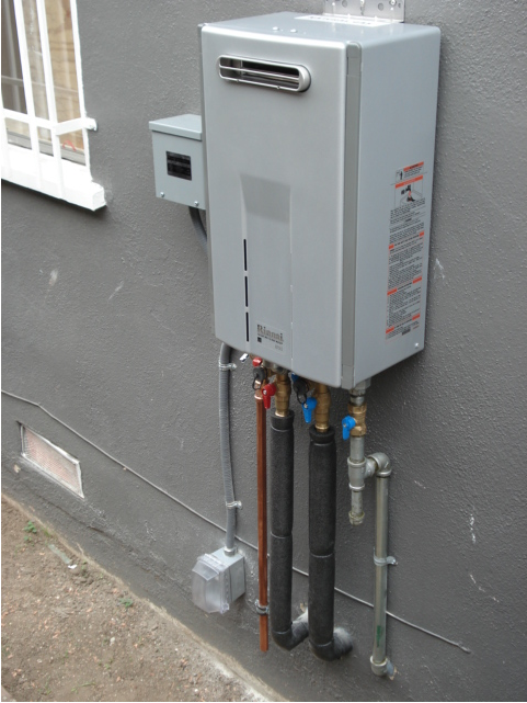Mounting Tankless Water Heater : Tankless water heaters mdh construction